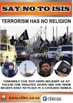 SAY NO TO ISIS - TERORIS HAS NO RELIGION